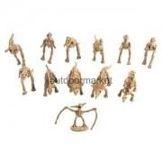 Alcoa Prime 12Pcs Dinosaur Excavation Kit Dig up Skeleton Model Figure Kids History Toys