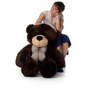 3 feet Chocolate teddy bear / Big very soft for pleasant Gift