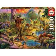 Educa 17655 1000 Land of The Dinosaurs