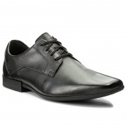 Обувки CLARKS - Glement Lace 261223117 Black Leather
