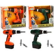 Fúrógép cserélhető fejjel - narancssárga