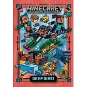 Deep Dive! (Minecraft Woodsword Chronicles #3), Hardcover/Nick Eliopulos
