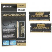 Memorie laptop Corsair 16GB DDR3 1600MHz CL9 Kit