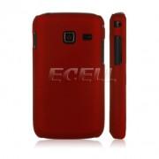 Samsung Galaxy Y Duos S6102 Твърд Калъф Червен + Протектор