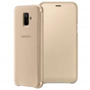 Capa Flip para Samsung Galaxy A6 (2018) EF-WA600CFEGWW - Dourado