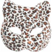 Masca carnaval venetian model pisicuta leopard