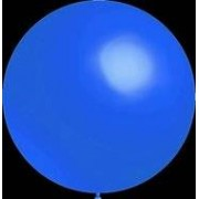 ballonnenparade Mega grote ronde festivalballonnen blauw 90 cm professionele kwaliteit