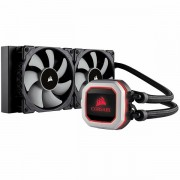 Corsair Hydro Series, H100i PRO, 240mm Radiator, Advanced RGB Lighting and Fan Control with Software, Liquid CPU Cooler