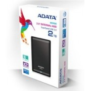 ADATA 2 TB Wired External Hard Disk Drive(Black)