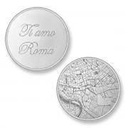Mi Moneda ROM-01 Del Mundo - Rome zilverkleurig Large