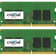 Kit Memorie Laptop Crucial 2x16GB DDR4 2400MHz CL17 Dual Rank x8 Dual Channel