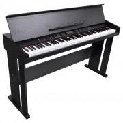 vidaXL Електрическо/Дигитално пиано с 88 клавиша и поставка