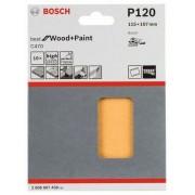 Bosch Slippapper för planslip 115x107 mm Bosch Best 10-pack (120)