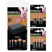 Duracell Paketangebote aus Ladegeräten und Akkus (BUN0073A-EU)