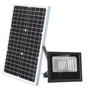 Proiector stradal 100 W, Panou Solar, Telecomanda, IP67