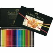 Creioane Colorate Polychromos 36 Culori Cutie Metal Faber-Castell