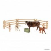 SCHLEICH set-tri krave 42392