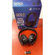 Sony PS4 Gold Wireless Stereo Headset použitý