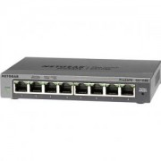 Комутатор Netgear 8 x 10/100/1000 Prosafe PLUS switch (manage via utility) - GS108E-300PES