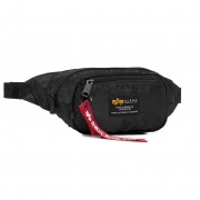 Чанта за кръст ALPHA INDUSTRIES - Crew Waist Bag 196923 Black 03