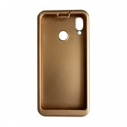 Husa 360 Full Cover Huawei P20 Lite + folie sticla - Gold