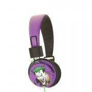 Batman The Joker Folding On-Ear Headphones - Black Logo
