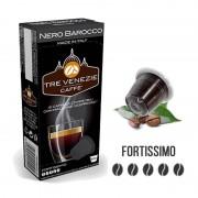 Caffè Tre Venezie 10 Capsule Nero Barocco Compatibili Nespresso -