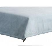 ASKO - NÁBYTEK Přehoz na postel Nice PRE 28, modro-šedá látka