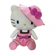 Hello Kitty in Pink Dress and Hat, Multi Color