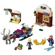 Happy Princess Frozen Oakens Trading Post Lego Like Colorful Building Blocks Set 180 Pcs With Kristoff and Anna Figure