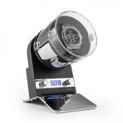 Klarstein MONTREAUX навиваща витрина за часовник оперира на батерии или чрез централното захранване 650-3000 TPD черна (WW1-Montreaux-BL)