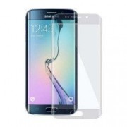 Folie plastic clasic Samsung Galaxy S6 EDGE protectie ecran fata total transparenta acopera tot ecranul