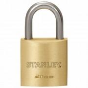 Stanley Tömör sárgaréz lakat 20 mm, normál kengyellel S742-028