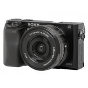 Sony Máquina Fotográfica Mirrorless A6000 + 16-50mm (24.3 MP - Sensor: APS-C - ISO: 100 a 25600)