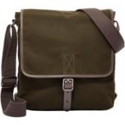 Fossil Buckner Messenger Bag(Green, 5 L)