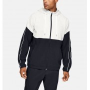 Under Armour Herenjack UA Recover Woven Warm-Up - Mens - Black - Grootte: Medium