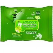 Bella Hararo London refreshing facial wipes(jasmine)