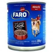 Lata de Patê Sabor Carne Faro 280g