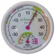 Termometru si higrometru analogic