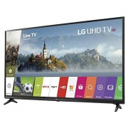 "LG 49UJ6200 Smart TV Ultra HD 4K de 49"", Color Negro, Paquete de 1"