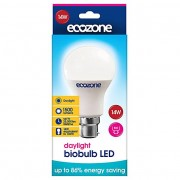 Ecozone LED B22 Bayonet Fitting Daglicht 14 watt equil 1000 watt