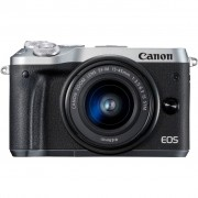 Canon EOS M6 Zilver + 15-45mm IS STM