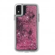 CaseMate Waterfall Case - дизайнерски кейс с висока защита за Apple iPhone XR (розово злато)