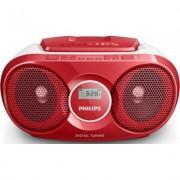 Philips Radioodtwarzacz AZ215R Czerwony