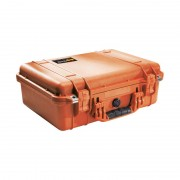 Pelican 1500 Medium Case - Orange