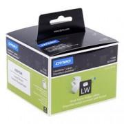 ORIGINAL DYMO Etichette Bianco S0722560 11356 1 rotolo di badge portanome, 41mm x 89mm, 300 etichette, carta rimovibile, bianco