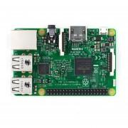 Raspberry Pi 3 Modelo B A Bordo De Adaptador Wifi De Núcleo Cuádruple A 1,2 Ghz, 1 GB De RAM