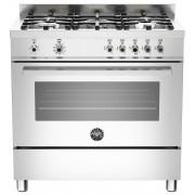 Bertazzoni PRO905 Gasspis 90 cm, 1 ugn, 5 brännare, rostfri, modell XE