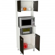 Mueble de Cocina TuHome Kitchen 54 Blanco & Wengue