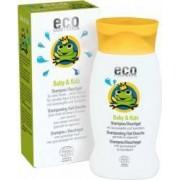 Sampon Eco Cosmetics si gel de dus bebe cu rodie si catina alba 200 ml 250 g